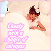 Nono /♥/ Cloudy with a chance of CUTENES