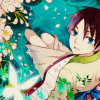 anime - xholic - watanuki looking up