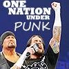 Blue: CM Punk//One Nation