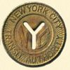 scarlettina: NYC subway token