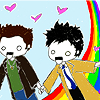dean cas rainbow