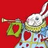 White Rabbit horn