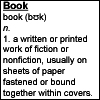 MASHFanficChick: Book (Dictionary Icon)