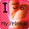 I (L) My Friends