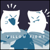 PILLOW FIGHT LIKE NINJAS