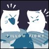 PILLOW FIGHT LIKE NINJAS