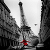 red_coat & Eiffel tower