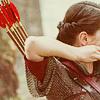 woman -- archer