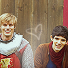 ѕнєяℓоск ноℓмєѕ: Merlin/Arthur <3