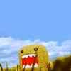 (misc) domo-kun; big smile now