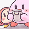 brb playing games. ♥ kirby