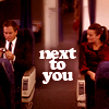[not your late-night booty call]: Ziva/tony - next to you