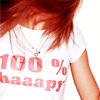 Adriana: 100% Happy (t-shirt)