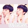 wooyoung cuteness. ♥