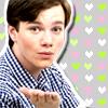 Kirke: Glee Kurt Kiss