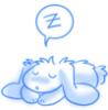 Sleepy bunny