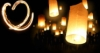 небесные фонарики, фонарики любви