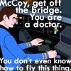 mccoy get off the bridge