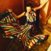 Debbie: colorful dress (aquapuras)