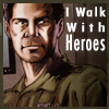 I walk with heroes beck