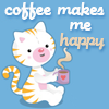 coffeecat made by toocuteicons