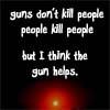 Eddie Izzard: guns