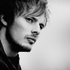 boys | bradley | stare b&w facial hair