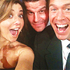 Gaby: denisofs and boreanaz at emmys 2009