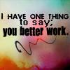 Ru Paul: work it