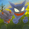 Haunter and Misdreavus <3