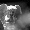 melancholy, angel, watching