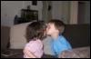 Первый поцелуй:))
