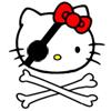 Hello Kitty Pirat