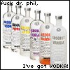 flavored vodkas!
