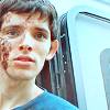 i need a raincoat.: Merlin - Colin Morgan chocolate face tra