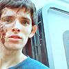 i need a raincoat.: Merlin - Colin Morgan chocolate face tra