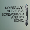 DW: Sonic Screwdriver