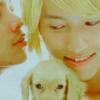 Isa-chan: Kokunno and puppy <3