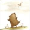 Медвед и бабочка