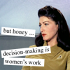 number one: making decisions