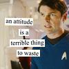 bones: attitude