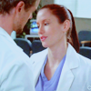 Mark and Lexie; Flirting