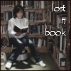 Melina: lost in a book
