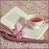 книга  с чашкой
