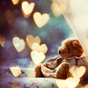 alwaysashipper: teddy bear hearts