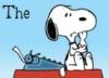 Snoopy Thinking