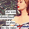 she was disinclined