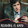MB: reading is hard