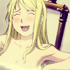 enemy to sleep: Blushing Winry