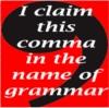 Claimed Comma